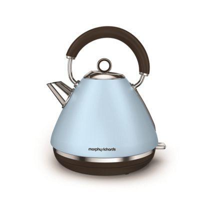 Morphy Richards Azure 'Accents' retro traditional kettle 102100   Debenhams