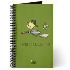 Hints, Clues Tips Journal $11.99