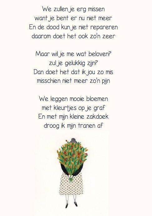 Rouwen: gedicht