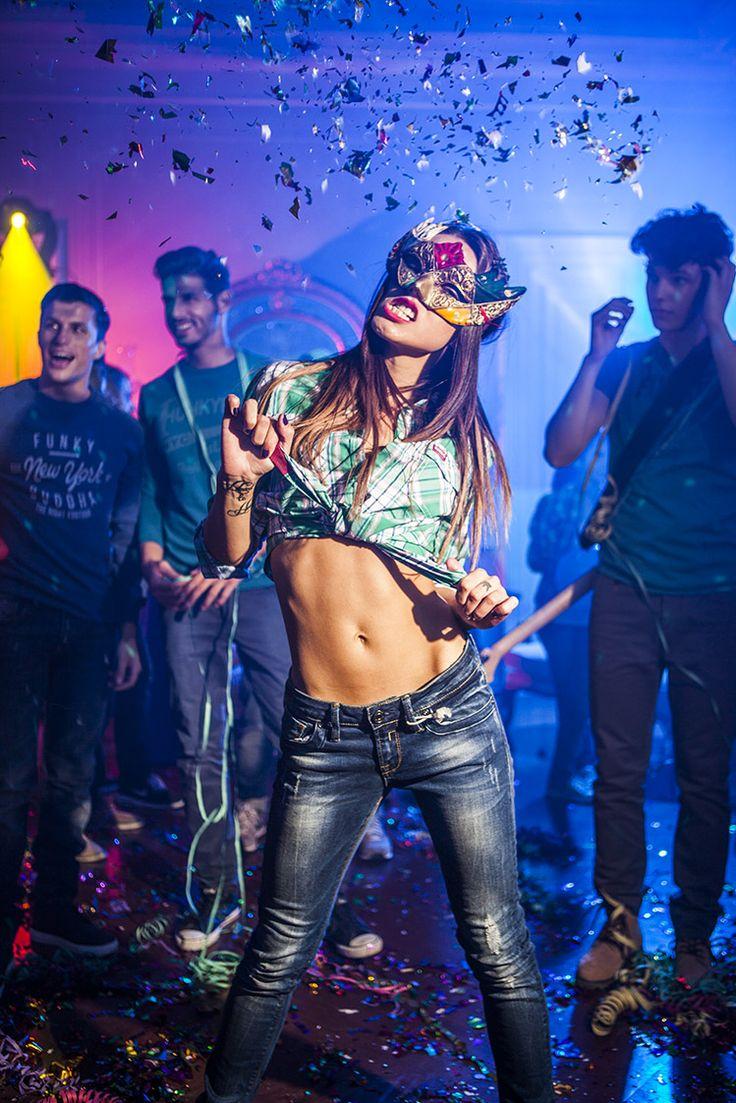 #bitchy#maskparty#funkybuddha#denim#youth#art