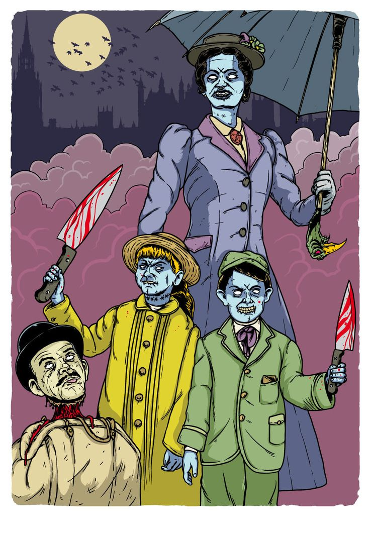 VHS/Z - Mari Evil Poppins - Limited Edition Print de MarcosWeirdo en Etsy