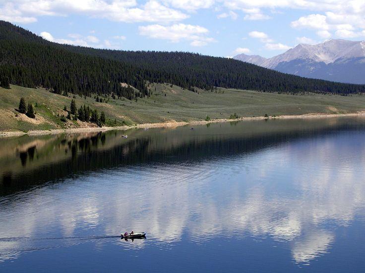 Fishing on taylor lake tincup taylor park colorado for Fishing lakes in colorado