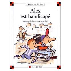 ALEX EST HANDICAPé, traite comme son titre l'indique du handicap moteur.