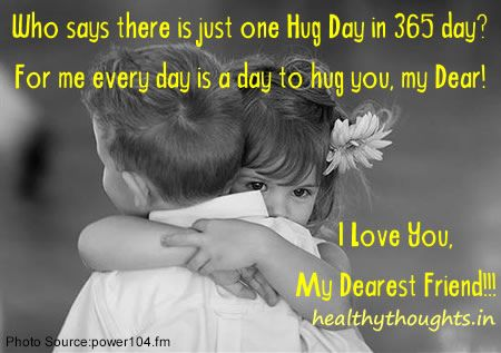 Who says there is just one Hug Day in 365 day? For me