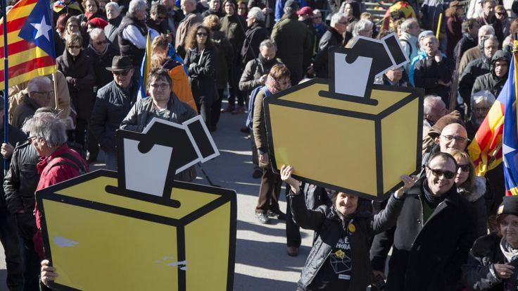 """La question posée aux Catalans sera : """"Voulez-vous que la Catalogne soit un Etat indépendant sous forme de République ?"""""""