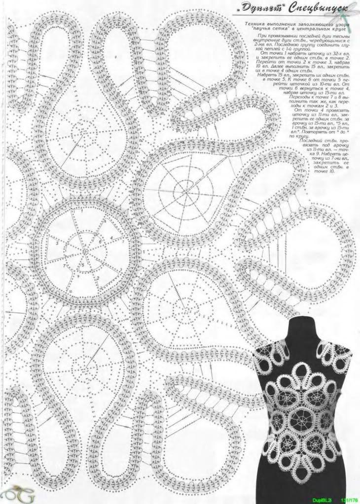 Moderno Modelos Ornamento Ganchillo Embellecimiento - Ideas de ...