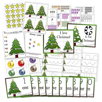 Love these fun Christmas printables for young kids!