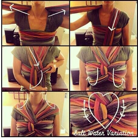 Salt water variation double hammock carry #babywearing I need to learn this!
