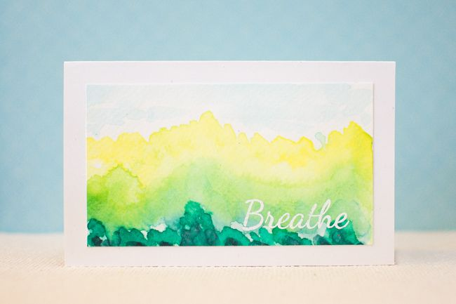 Oh my gorgeousness!!  This watercolor creation from May using our Breathe set is breathtaking!! http://www.cas-ualfridaysstamps.com/searchquick-submit.sc?keywords=breathe   #casfridays #watercolor #breathe