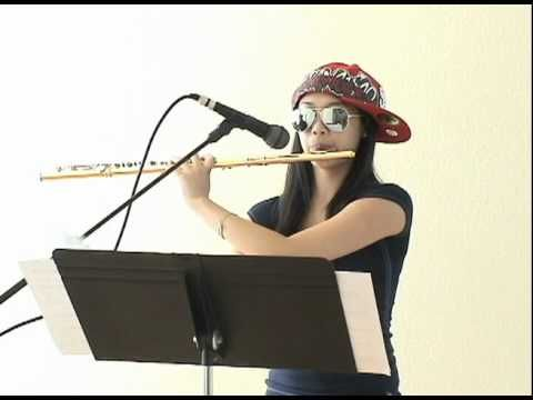 15 year old Annie Wu and Beatbox Flute