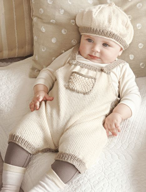 Verena Knitting Magazine – knit hat and overalls baby- Patterns -