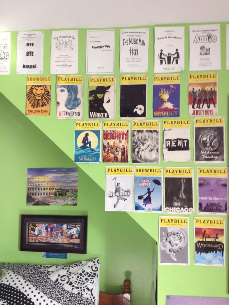 26 best tony awards party images on pinterest broadway for Broadway themed bedroom ideas