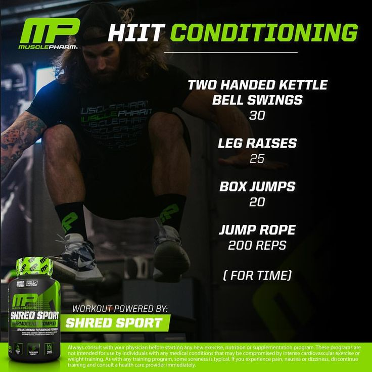 Even with so much to do before the holidays, make time for one more workout before your festivities start. Try out this HIIT Conditioning workout from @614Thor and go for as many rounds as you can! Powered by: Shred Sport #WeLiveThis #MPNation #RealAthletesRealScience