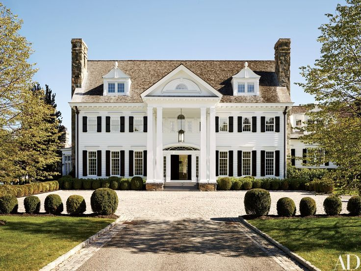 Tommy Mottola's Georgian-Inspired Estate in Greenwich, Connecticut Photos | Architectural Digest