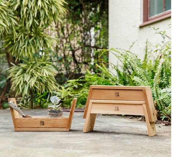 Mission Accomplished: A Japanese Design Labu0027s Two In One Garden Stool |  Мебель для книг | Pinterest | Gardens, Design Lab And Posts