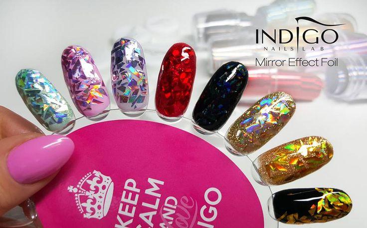 Indigo Nails Lab Mirror Effect;)