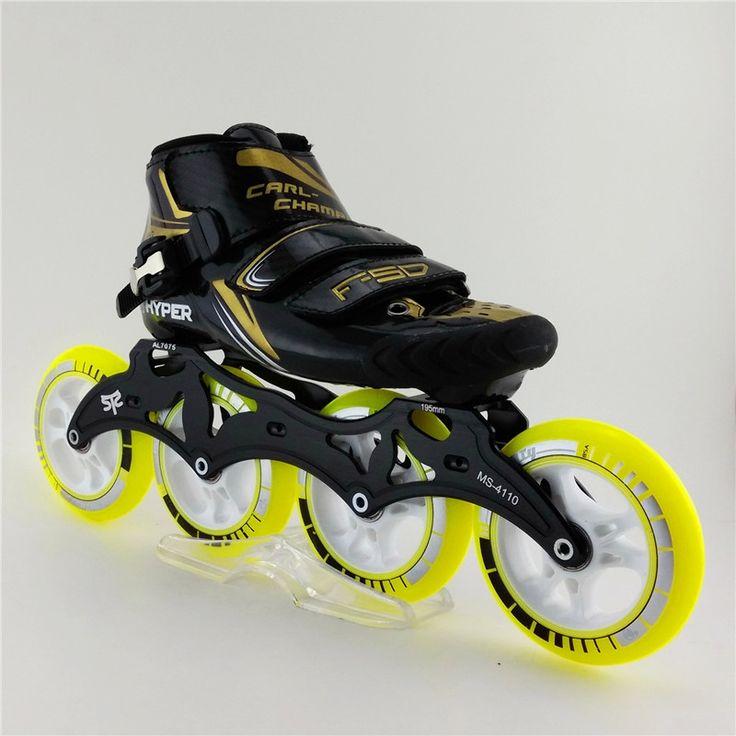 (182.00$)  Know more  - Original Genuine Brand Professional Speed Skating Shoes Adults/Child glass fiber Patins Roller Skates  Inline Skates Shoes