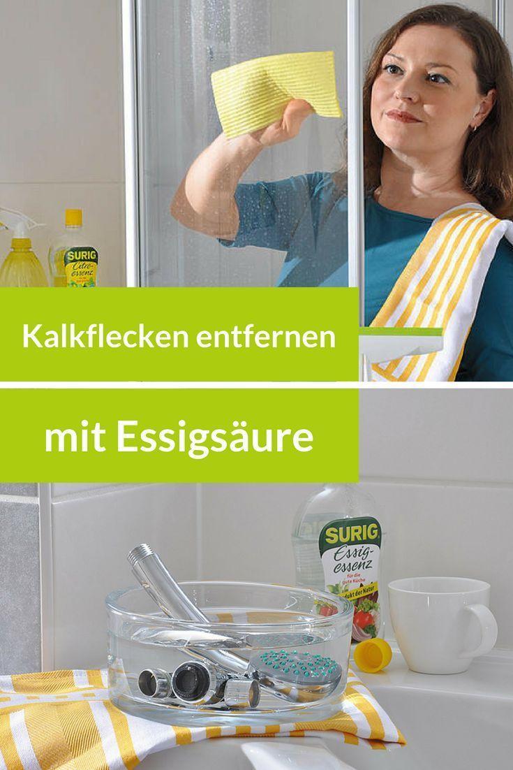 Kalk An Duschtur Aus Glas Entfernen Kleines Bad Dekorieren