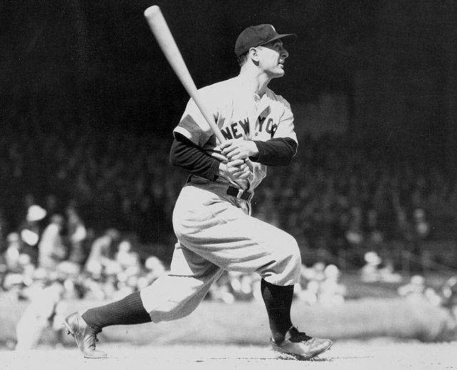 Lou Gehrig, New York Yankees