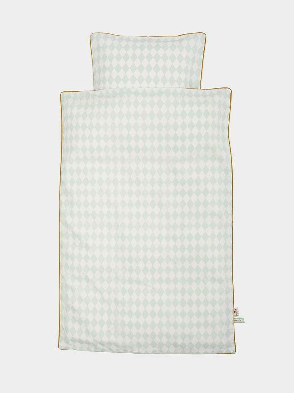 Harlequin Bedding Mint - Adult 1