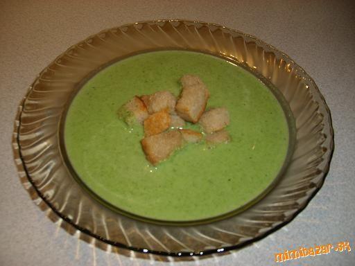 Krémová špenátová polievka
