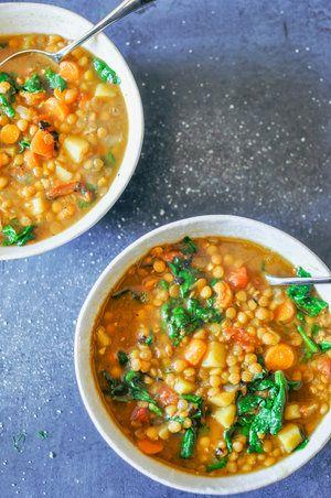 The Best Vegan Lentil Soup