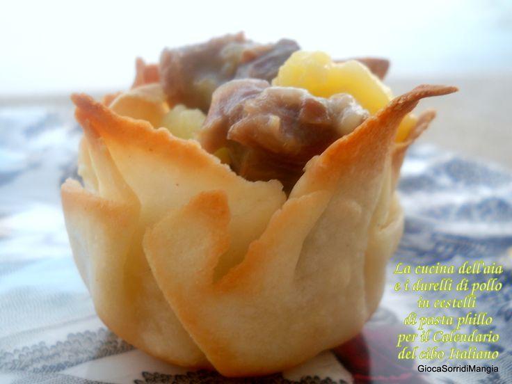 Per la Giornata della cucina dell'aiavi propongo questa ricetta a base di durelli di pollo, che sul mio blog, inspiegabilmente ha riscosso il maggior successo. In aggiunta, trovate anche com…