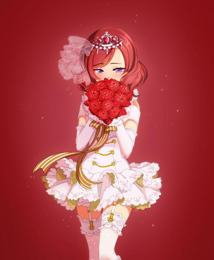 Nishikino Maki (Love Live) Eece18e82a7404f8a537e2340fde7dfb--anime-illustration-kawaii-anime