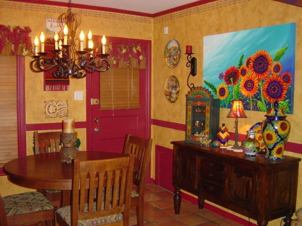 Home Interior: Cozy Mexican Style Homes Decor - HeimDecor