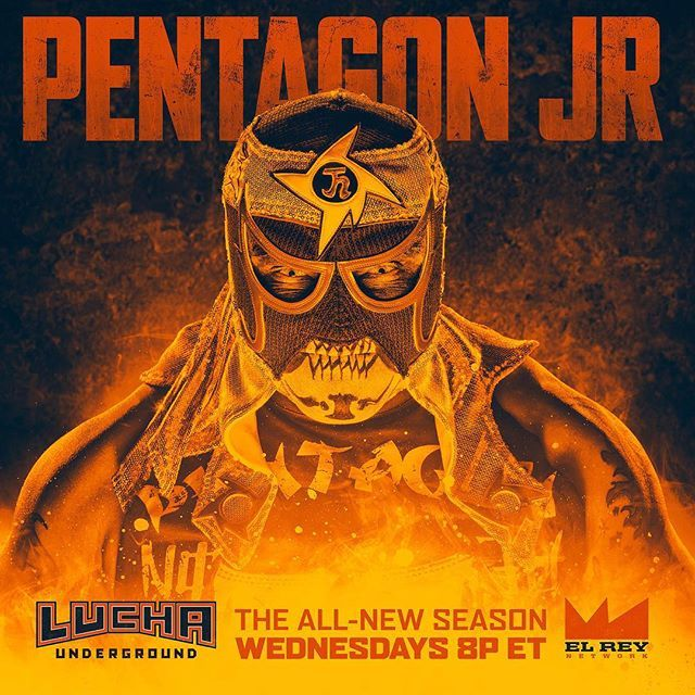 Lucha Underground @luchaunderground @PentagonJr is ba...Instagram photo | Websta (Webstagram)