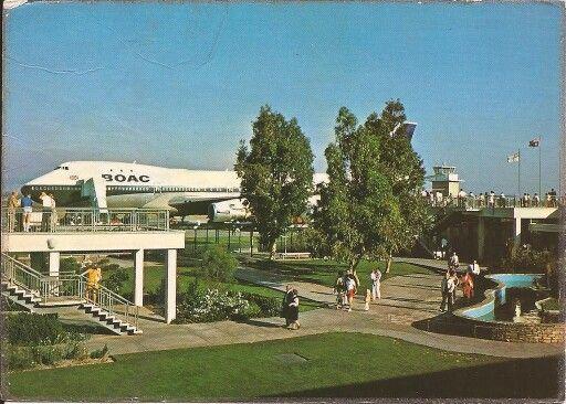 BOAC B747-100, Perth International Airport circa 1970's