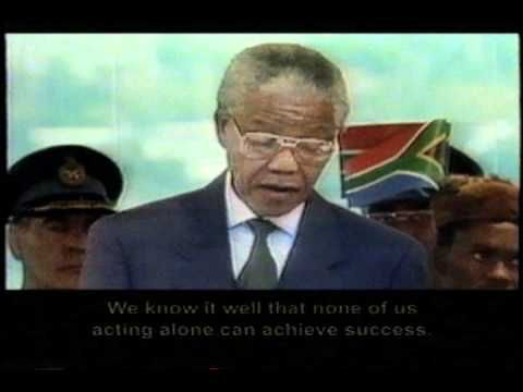 Nelson Mandela Speech after election as President
