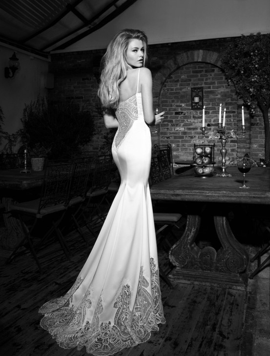 Silk Mermaid Wedding Gown – fashion dresses