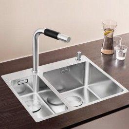 Blanco Andano kjøkkenvask 340/180IF/A planlim/nedfell - VVS Komplett