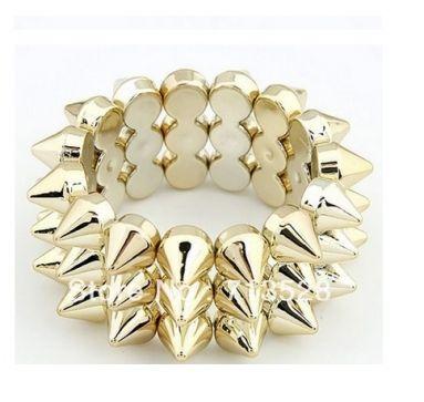 Omega Deals, spikes armband,elastisch armband,spikes bracelet,elastic bracelet,sieraden, mode accessoire,online sieraden kopen,trendy armband,bracelet,fashion jewelry,punk style,punkstijl