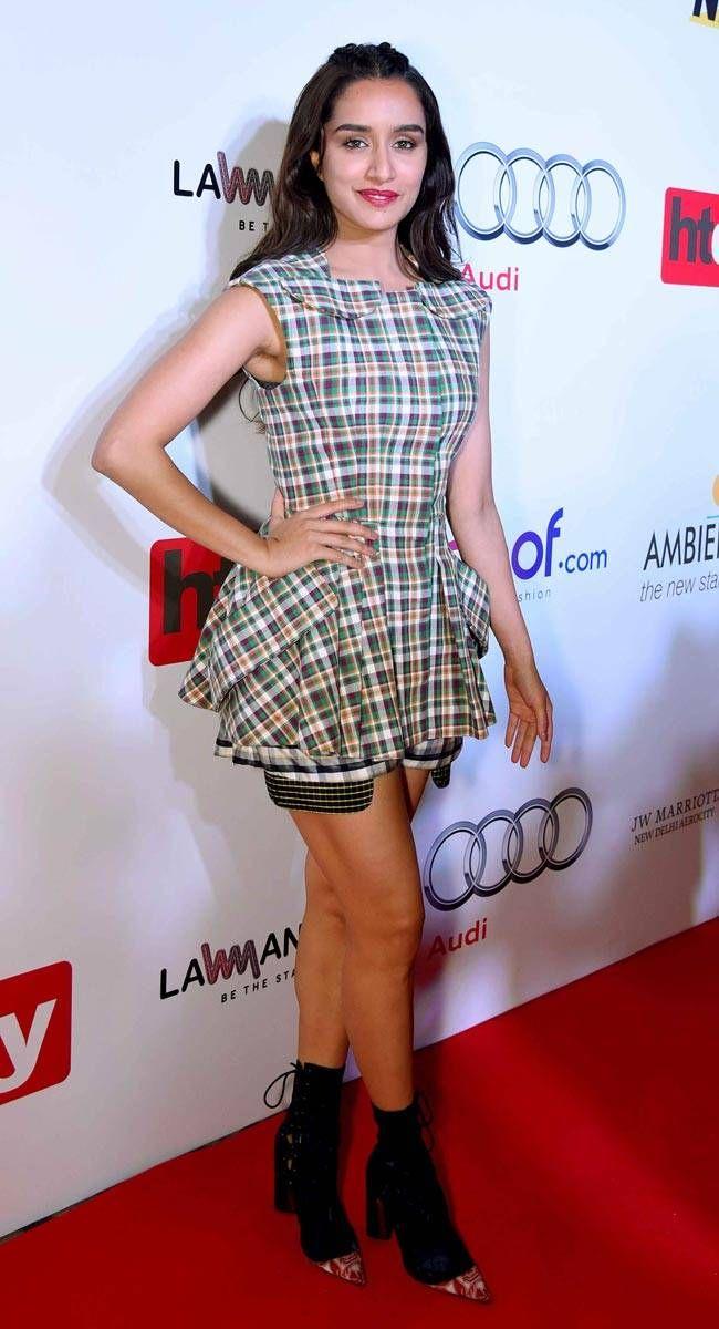 Shraddha Kapoor at HT Most Stylish Awards 2016.