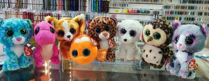 New Beanie Boos!!! Leona the leopard Darla the dragon Pablo the chihuahua Sami the fish Patches the leopard Pippie the dog Sammy the owl Lindi the cat $6.99 each