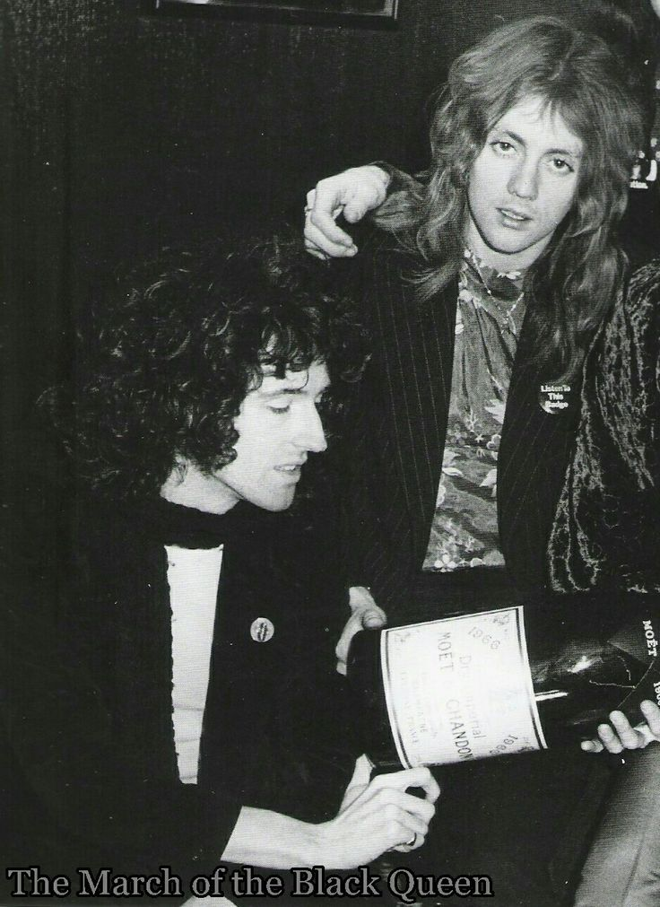 Brian May and Roger Taylor of Queen.