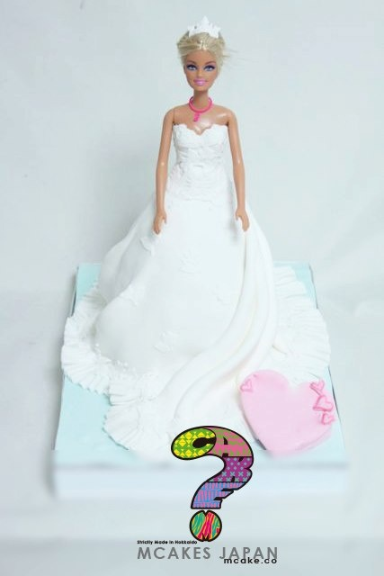 wedding doll cake