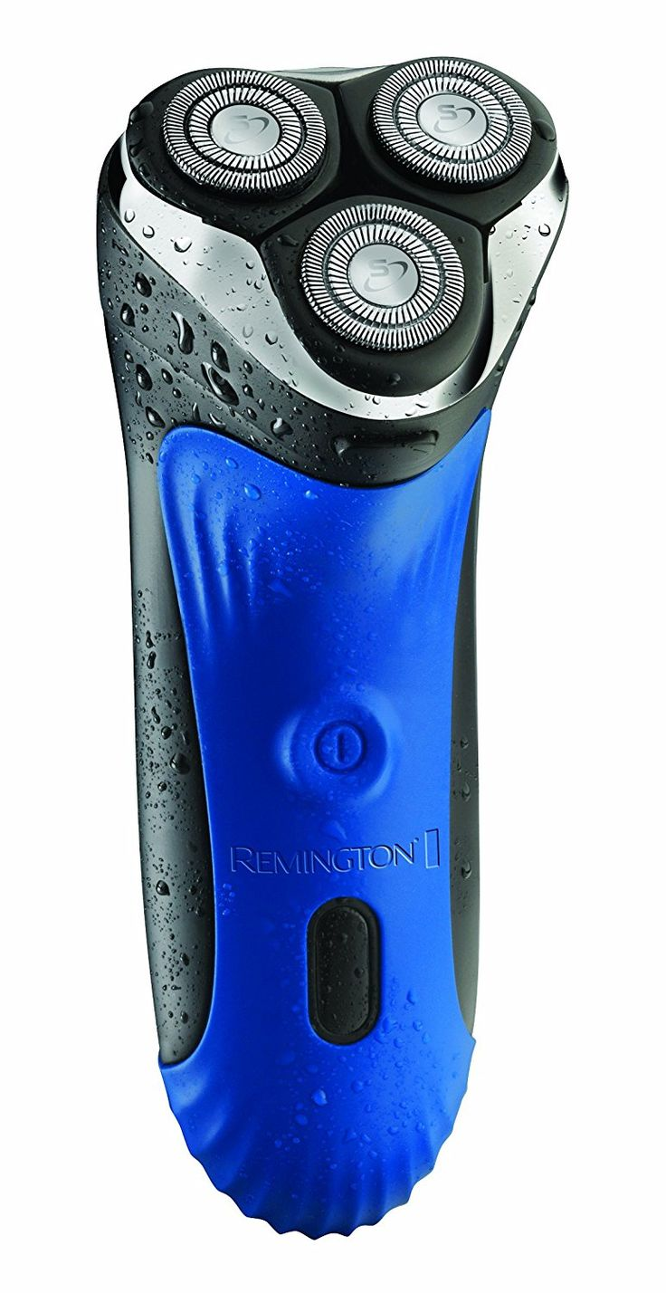 Remington AQ7 Wet Tech Wet and Dry Rotary Electric Shaver - Black/Blue: Amazon.co.uk: Health & Personal Care