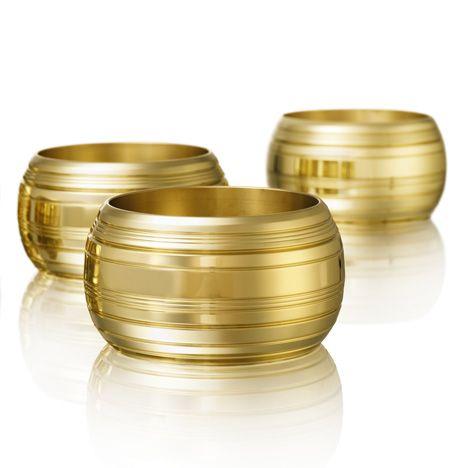 Venetian designer Luca Nichetto's series of brass bowls for Swedish brand Skultuna at Stockholm Furniture Fair.