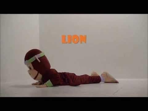 Lion PedaYOGA posture