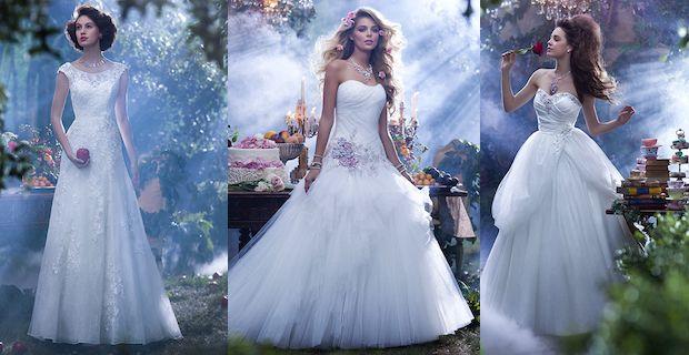 Vestiti da sposa principessa disney