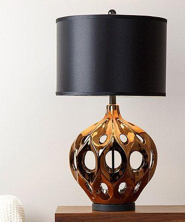 Bronze eva ceramic table lamp zulilyfinds