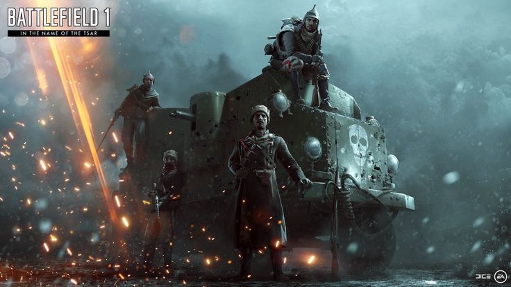 Artstation Battlefield 1 In The Name Of The Tsar Promotional