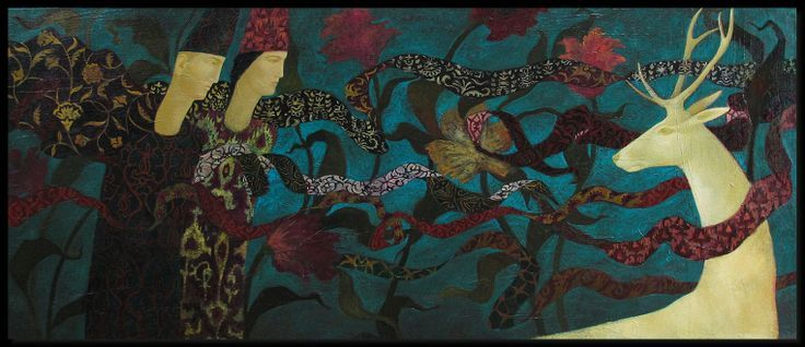 timur d'vatz pinterest | ... . 75 x 175 cm, oil on canvas, by Timur D'Vatz. London, October 2013