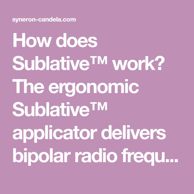 How does Sublative™ work? The ergonomic Sublative™ applicator delivers bipolar radio frequency energy via a matrix of 64 electrodes in the disposable applicator tip. The RF energy generates fractional deep dermal heating in the region of the electrode matrix to induce skin injury, thus eliciting a wound healing response. Striae and acne scars as well as mild to moderate wrinkles and superficial skin discoloration are reduced, and skin texture becomes more smooth and elastic.