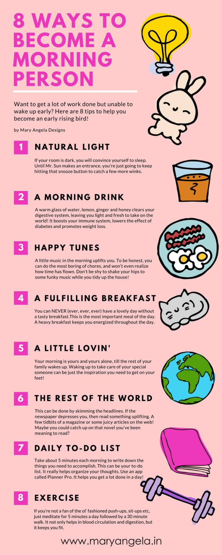 Hier sind einige Produkte, die Sie als Morgenmensch zu etwas machen können …   – Let's Get Healthy =D!!!