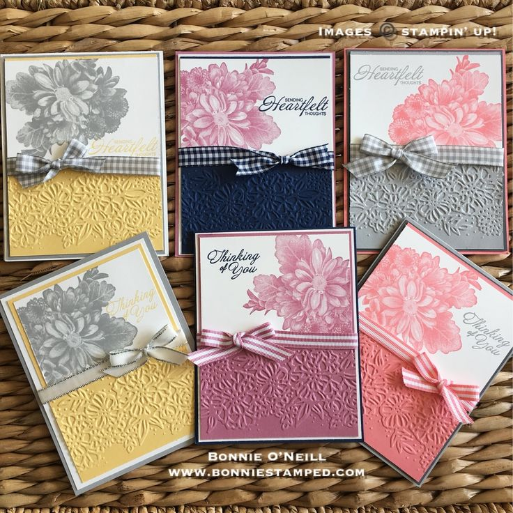 With all the attention on Sale-a-bration products, I decided it was time to break out the Petal Pair Embossing Folders that are featured in the Petal Passion Suite. Today's post features the Petal Pair Embossing Folder with Heartfelt Blooms and a VIDEO on how I created the card.