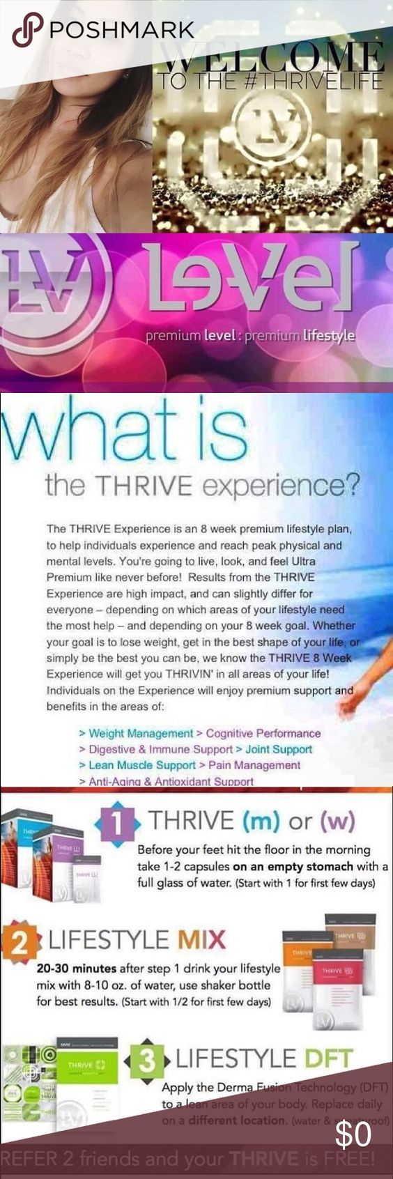 WHAT IS THRIVE? CLICK to find out!!!  Kellzann.le-vel.com